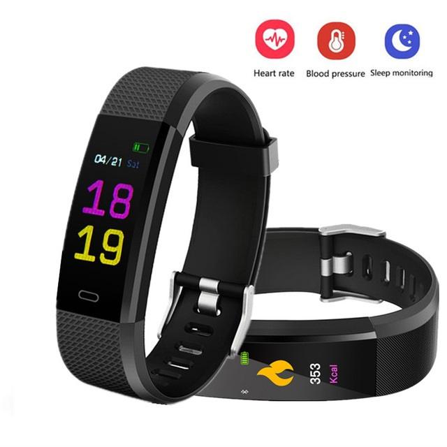 TOMTOP Opaska Fitness 115 PLUS Smart Bracelet  Android iOS W Rewelacyjnej Cenie.