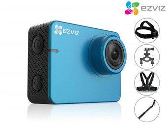 Kamera sportowa Ezviz S2 Lite z akcesoriami