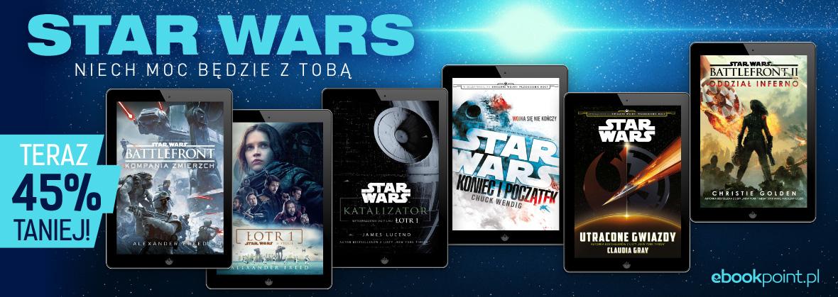 Star Wars. Ebooki 45% taniej @ ebookpoint