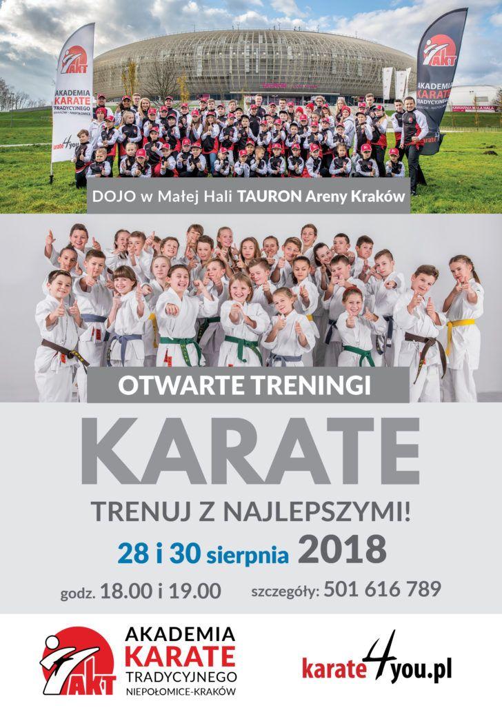 Otwarte treningi Karate Tauron Arena Kraków