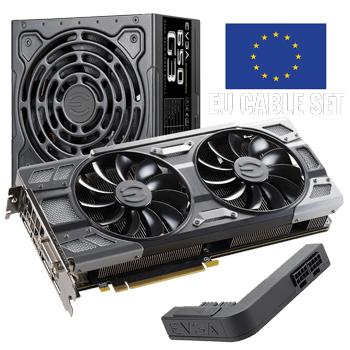 EVGA: GTX 1080 + zasilacz 650W i inne zestawy