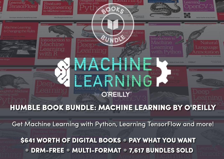 "Książki dot. ""Machine Learning"" na Humble Bundle"