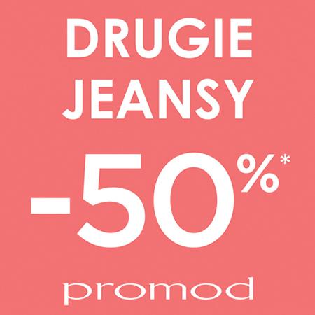 -50% na drugą parę dżinsów @ Promod
