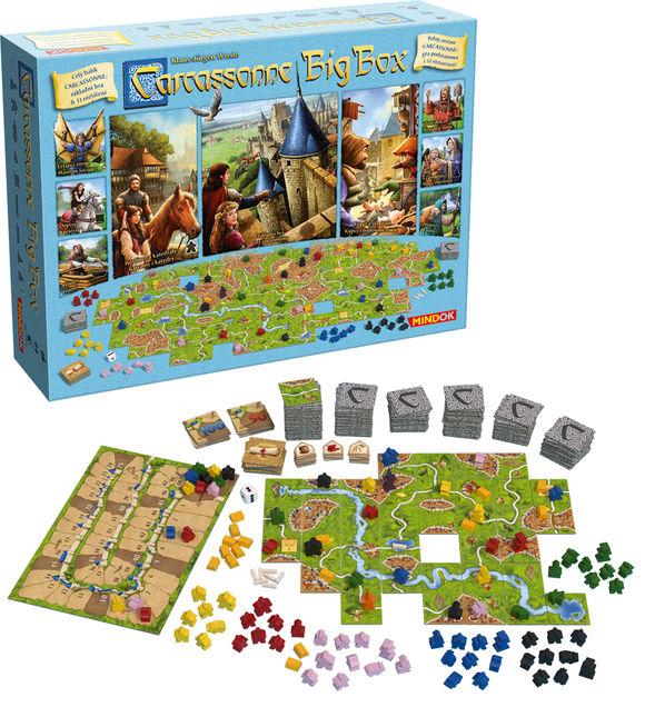 Gra Carcassonne Big Box
