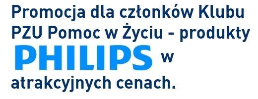 Rabat 40% na produkty Philips