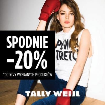 20% zniżki na spodnie @ Tally Weijl