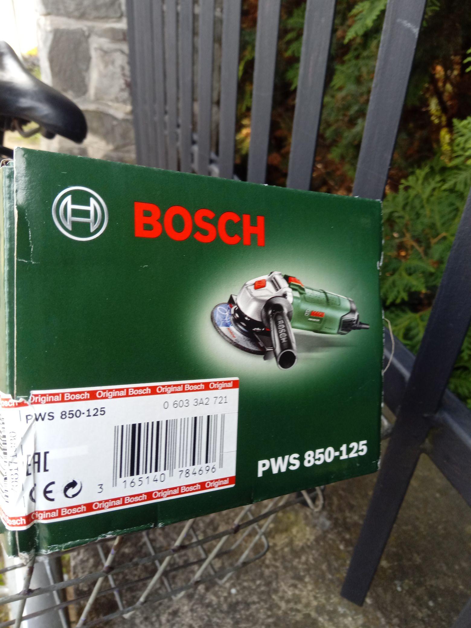Szlifierka kątowa Bosch PWS 850-125  Castorama