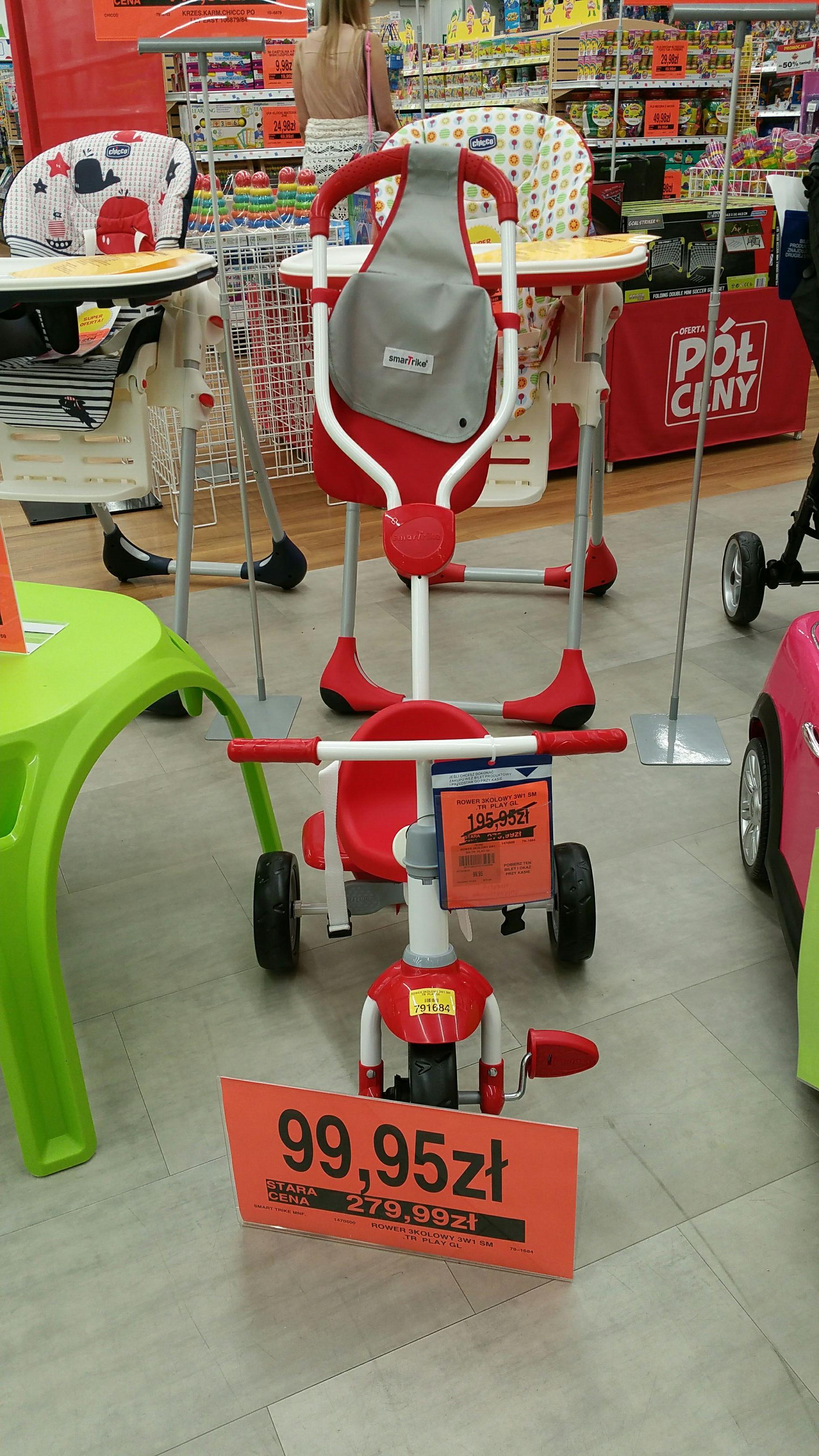 Sklep toysrus rowerek 3w1  torun plaza