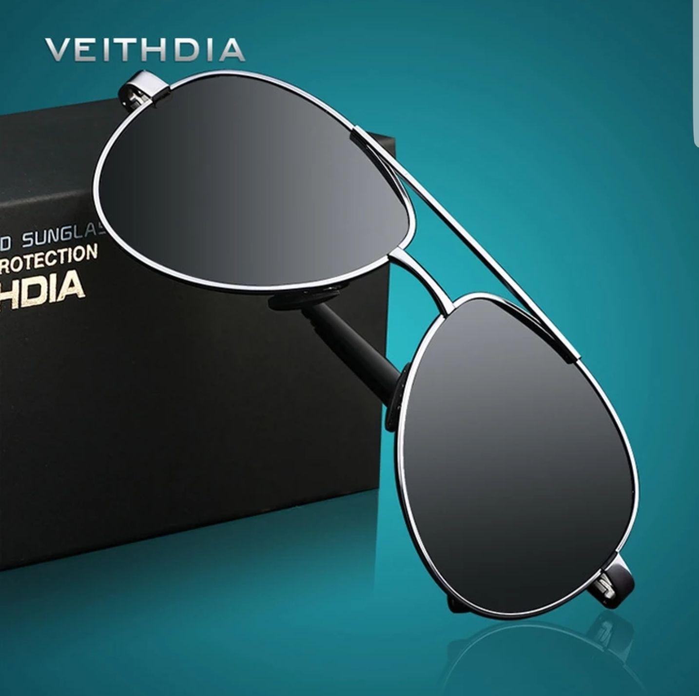 Okulary pilotki z polaryzacja firmy VEITHDIA 7.20$