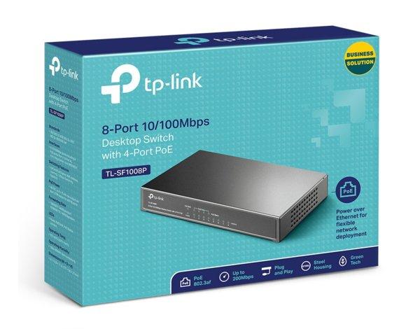 Switch TP-LINK TL-SF1008P PoE