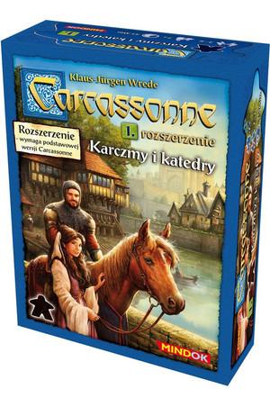 Carcassonne. Dodatek 1 Karczmy i Katedry edycja 2 merlin.pl2
