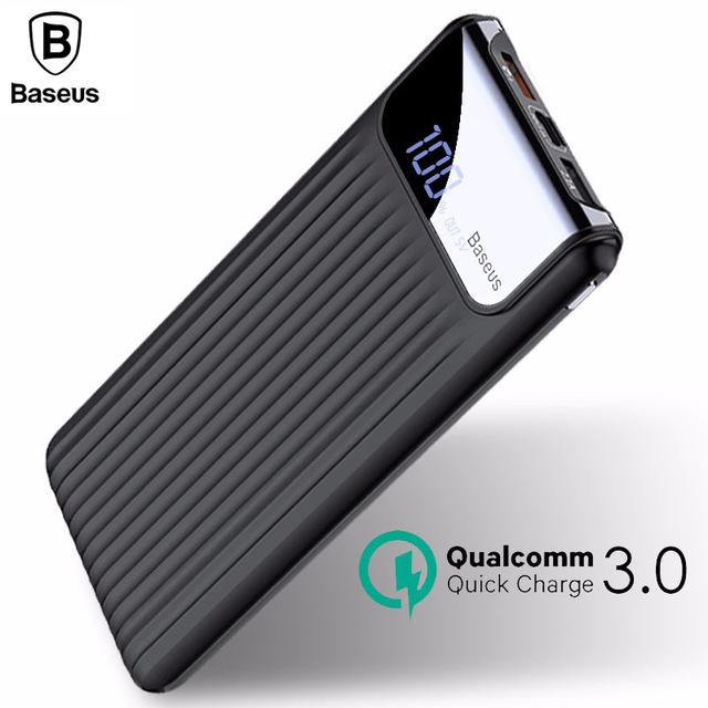 Powerbank Baseus 10000 mAh Dual USB QC 3.0