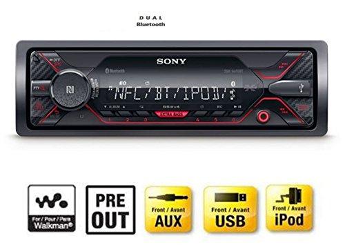 Radio samochodowe Sony DSX-A410BT bluetooth nfc aux 55€
