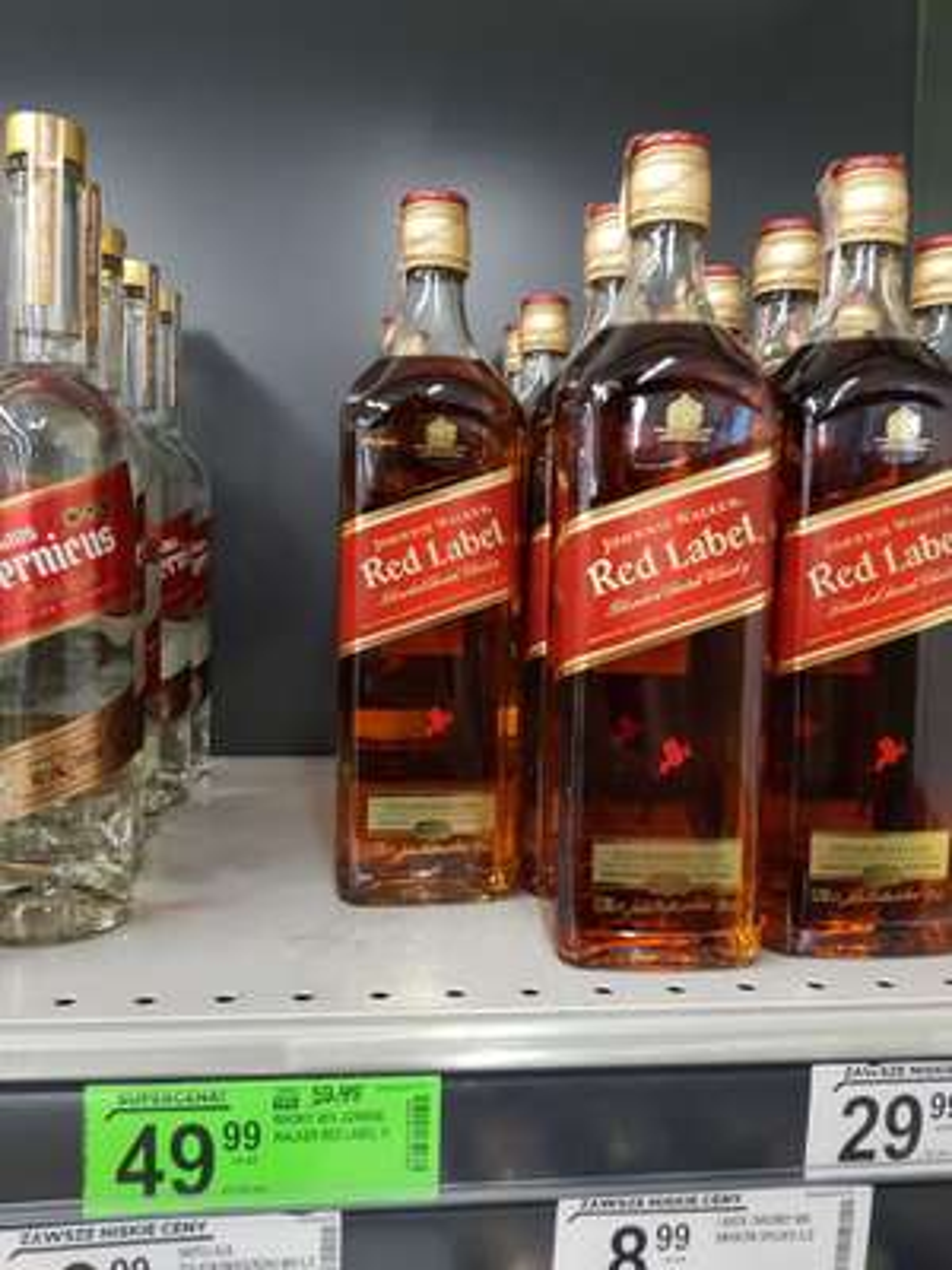 1L Whisky Johnnie Walker Red Label Biedronka
