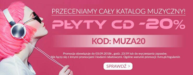 -20% na cały katalog muzyczny livro.pl