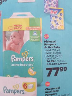 Pampers Active Baby Dry - Netto