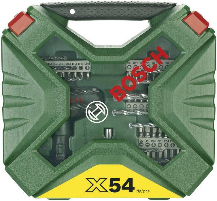 Bosch zestaw wierteł i bitów Bosch X-Line, 54 szt Castorama