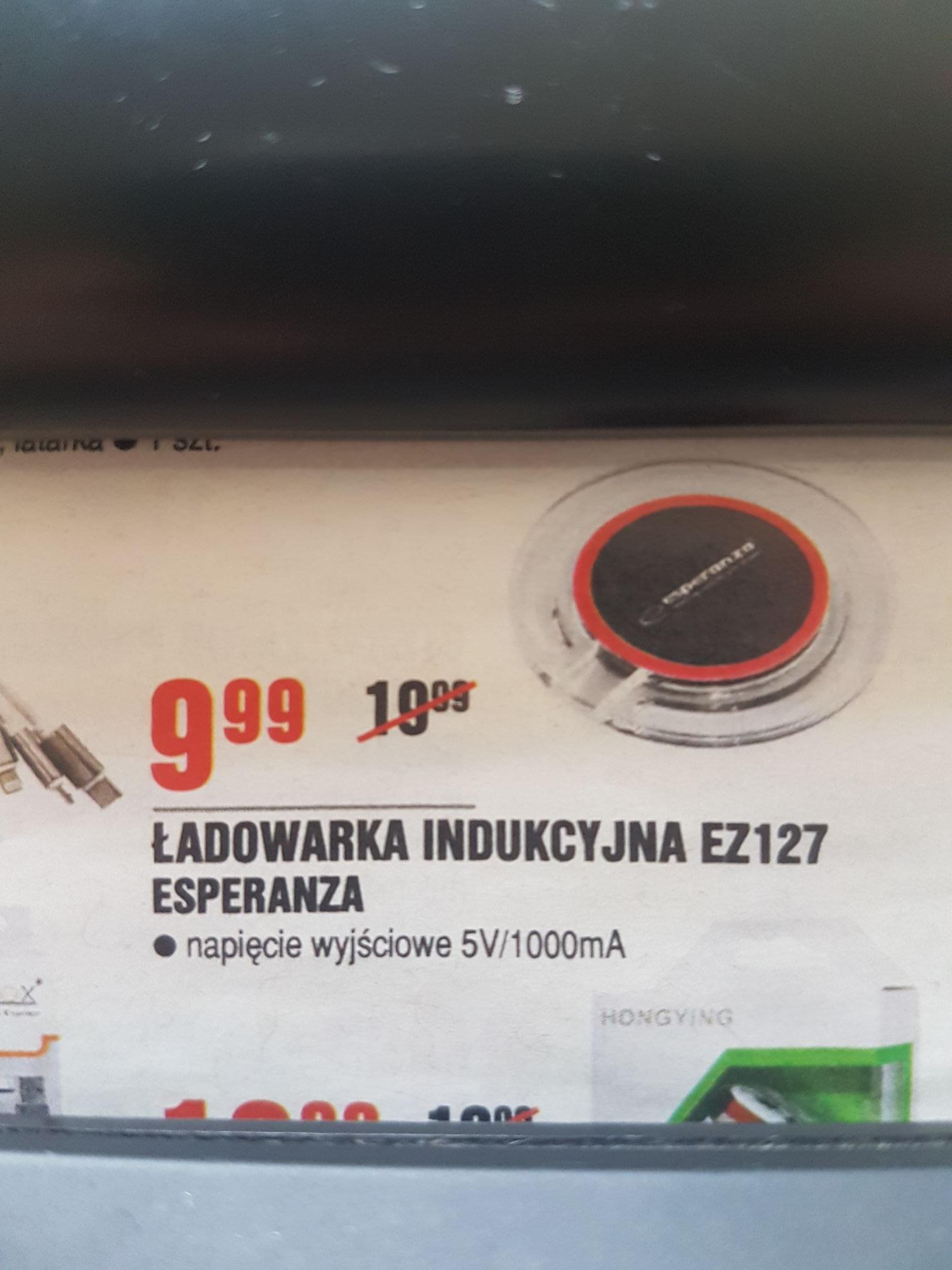 Ładowarka indukcyjna @ Leclerc (Warszawa)