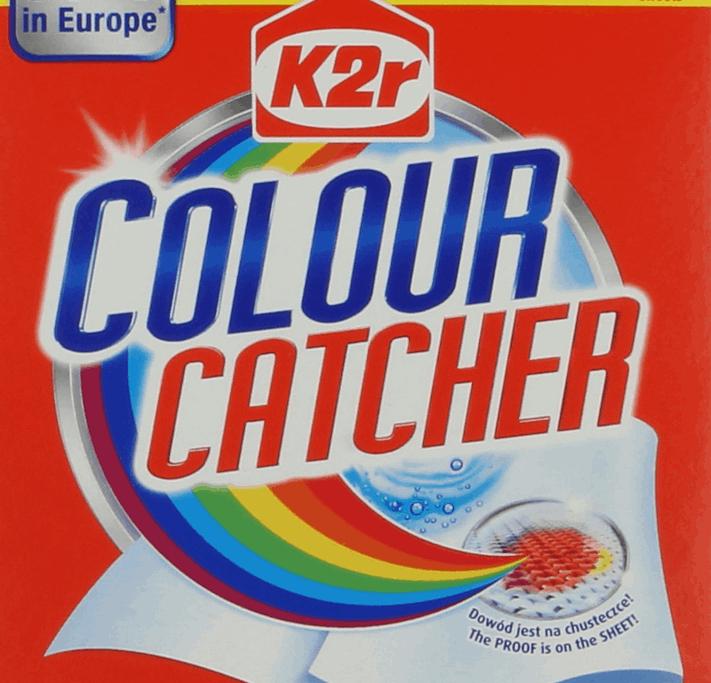 K2r Colour Catcher, 2szt chusteczki zapobiegające zafarbowaniu ubrań Tesco Clubcard