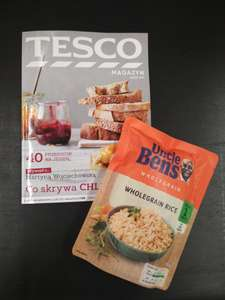 Uncle Ben's za 1 gr z Clubcard @Tesco