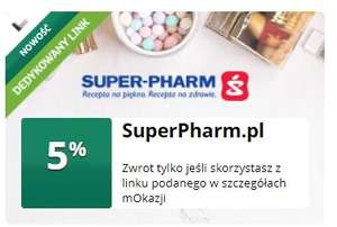 5% na SuperPharm.pl w mOkazjach (mBank)