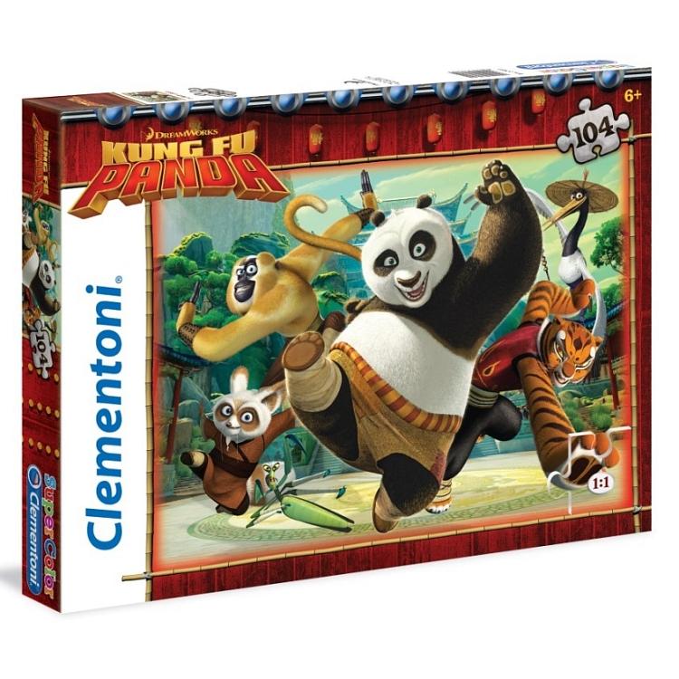 Smyk puzzle Kung Fu Panda 3 rodzaje