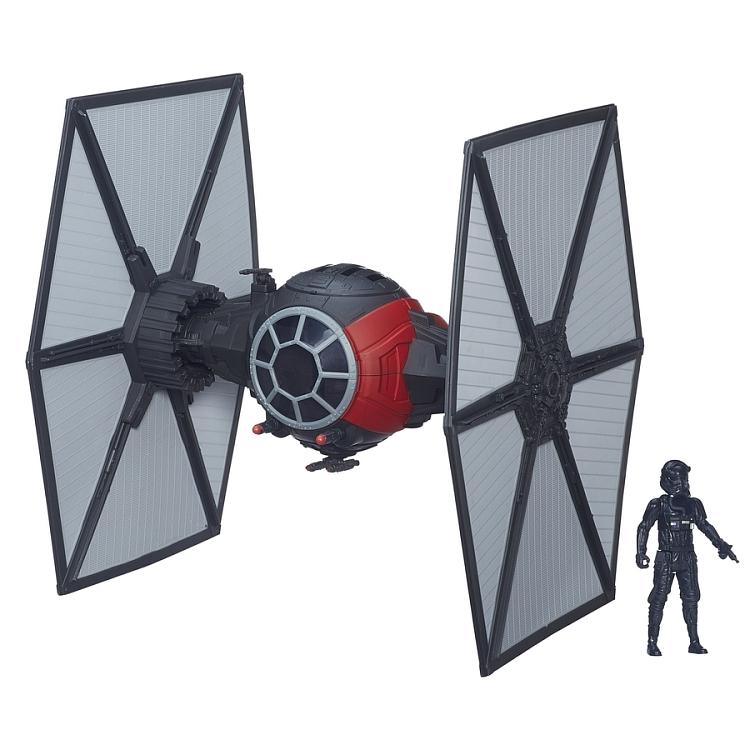 Star Wars, Myśliwiec Tie, model z figurką za 19,99zł @ Smyk