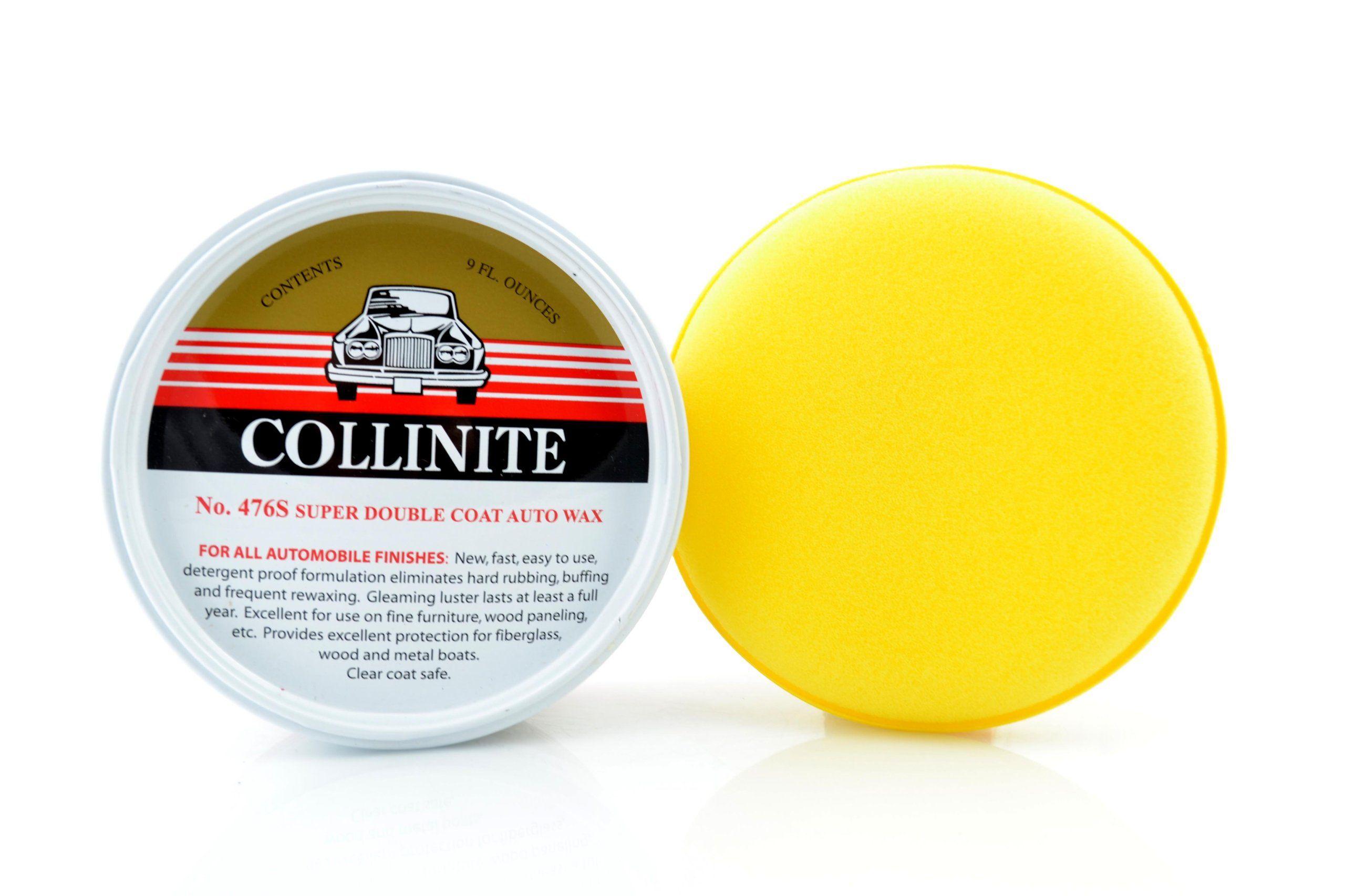 Wosk Collinite 476s 266ml double coat auto wax + aplikator i 4x microfibra