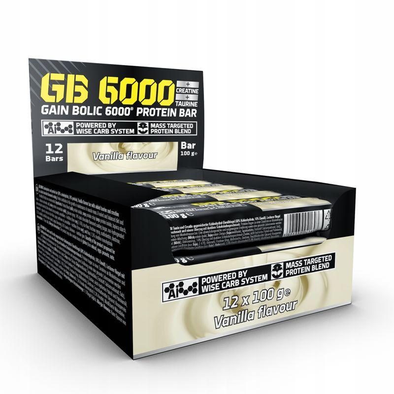 OLIMP Baton GB 6000 12x100 g WYPRZEDAŻ data do 30.09.2018