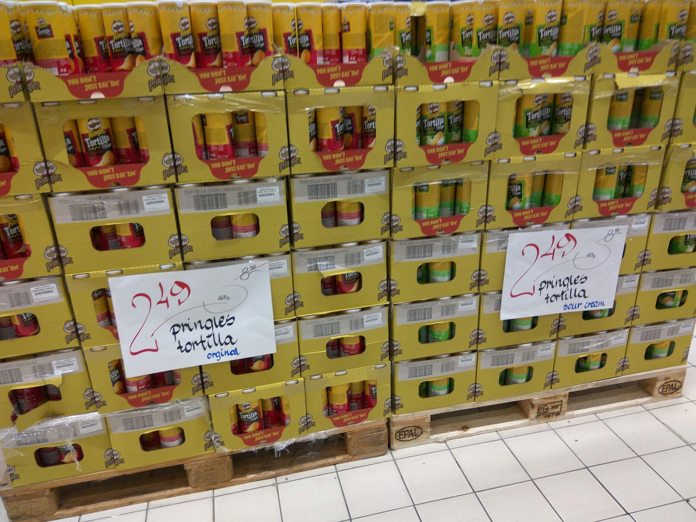 Pringles -  Lokalnie Eleclerc Warszawa