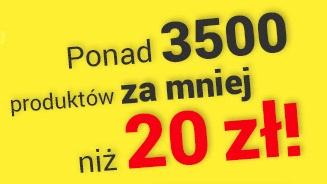 Ponad 3500 produktów za mniej niż 20zł @ Decathlon