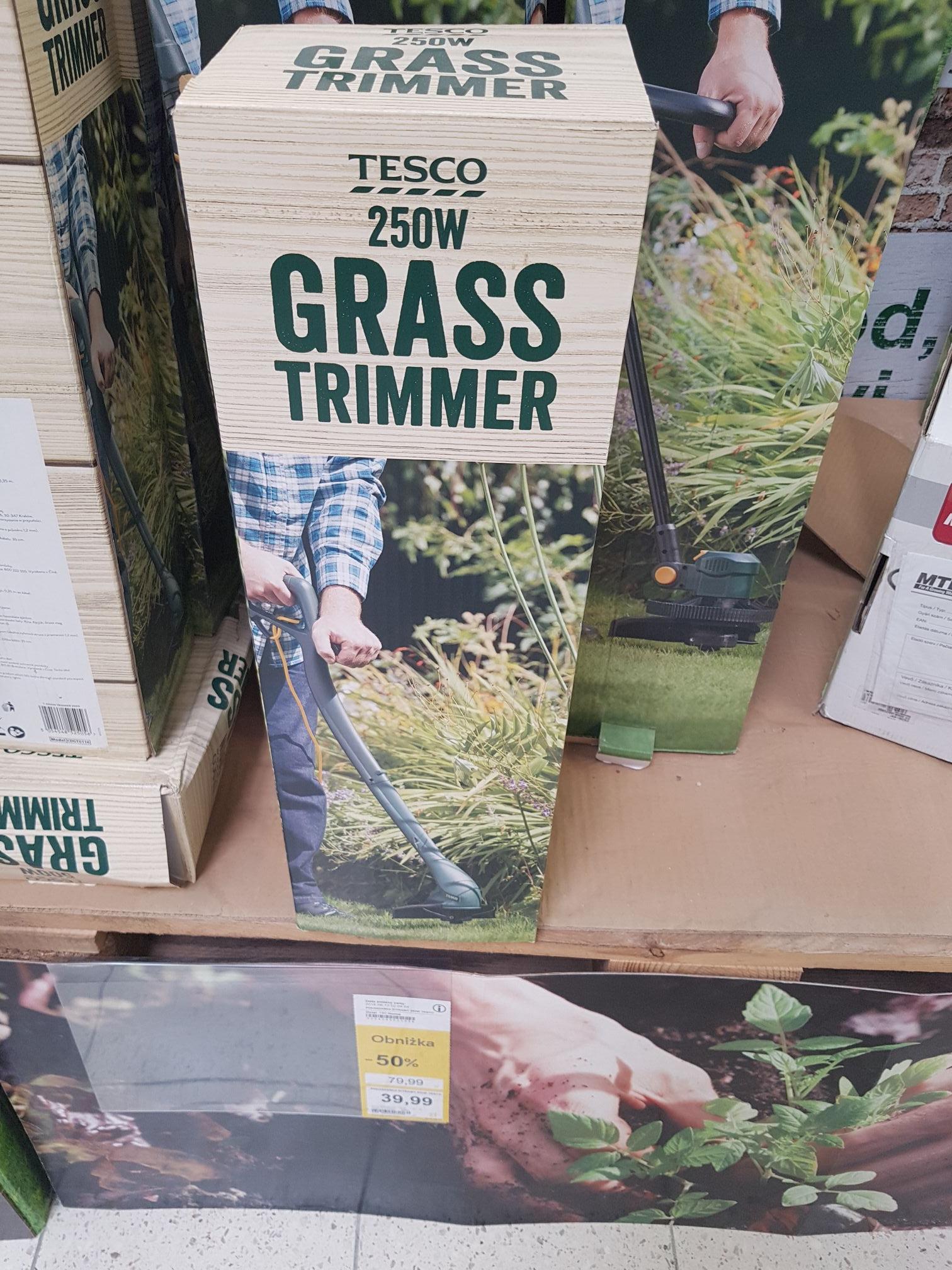 Podkaszarka do trawy 250W Tesco 50%