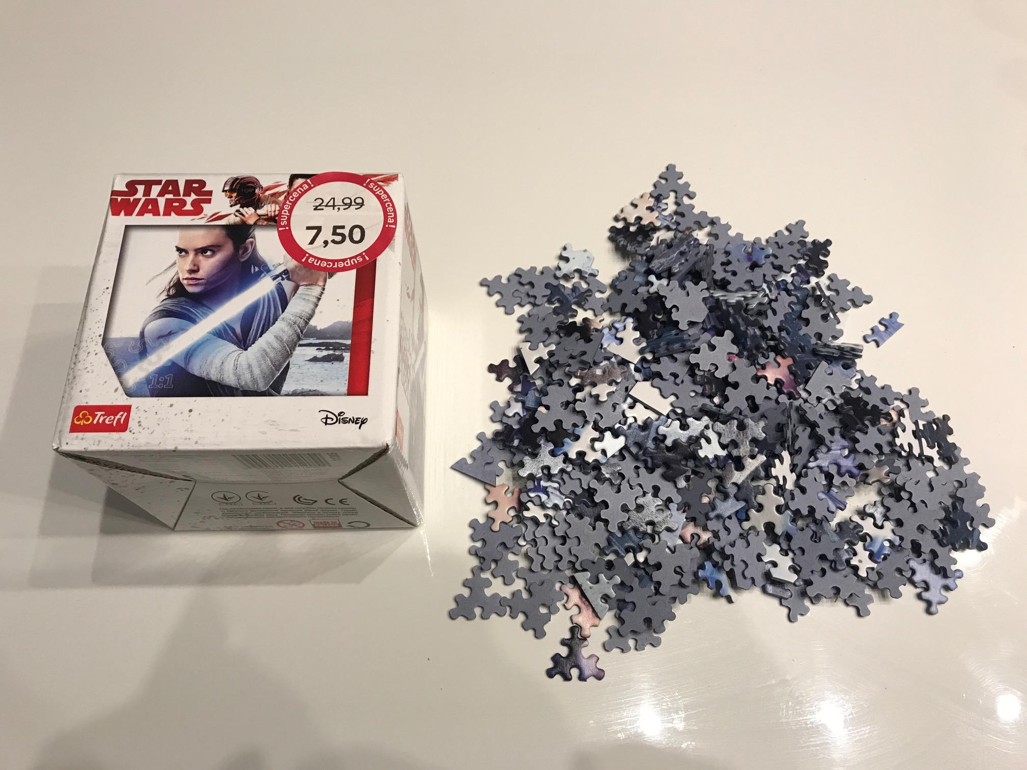 Empik Jaworzno Nano Puzzle Star Wars 362 Elementy.