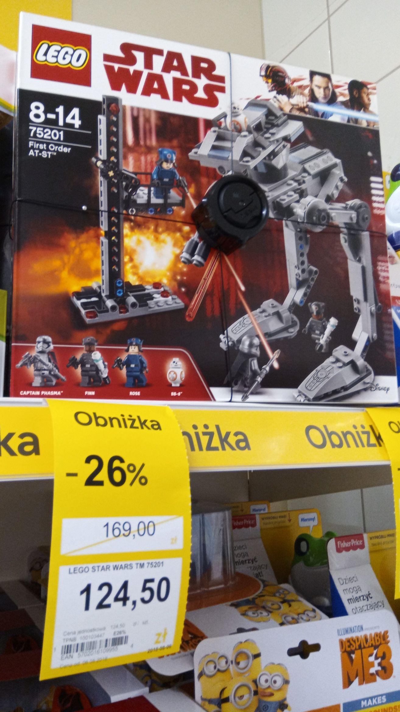 LEGO Star Wars AT-ST 75201 Tesco ŁÓDŹ
