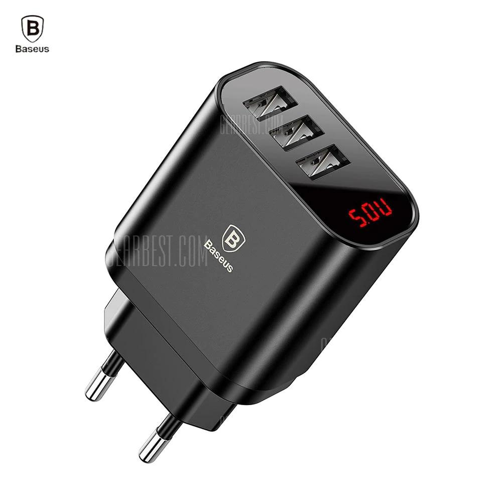 Baseus Ładowarka Podróżna 3 USB 3.4A Max.