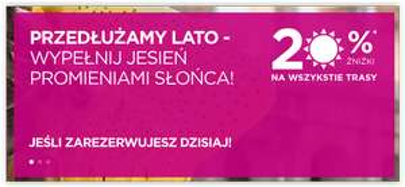Wizz Air zniżka -20% na wszystkie kierunki - tylko dzisiaj.