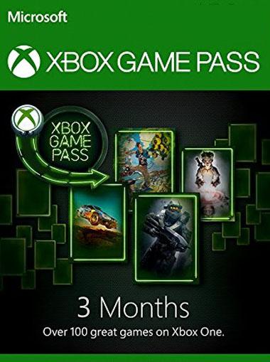 Xbox Game Pass 3 miesiące (lub 4 miesiące) @cdkeys