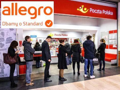 Allegro Pocztex Kurier 48, pobraniowa oraz przesyłka polecona od 5,90zł