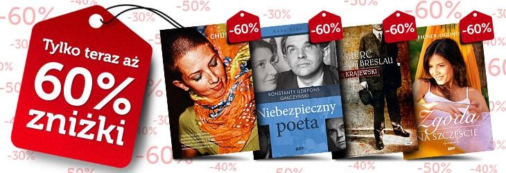 300 książek aż o 60% taniej! @ Znak.com.pl