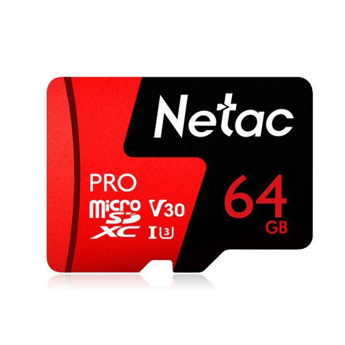 Karta microSDXC Netac P500 PRO 64GB (odczyt do 98MB/s) za 64zł lub 128GB za 98,50zł@ Zapals