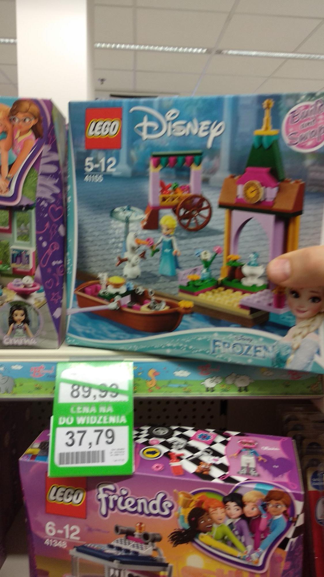 Klocki Lego Disney Elsa na targowisku 41155