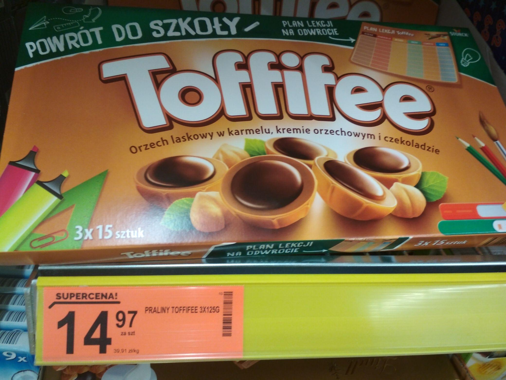 Toffifee - 3x125g mega paczka - Powrót do szkoły