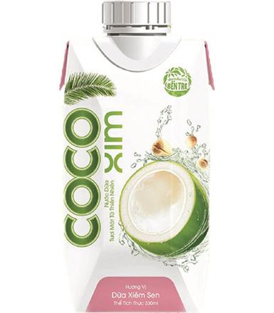 COCOXIM 330ml Woda kokosowa o smaku orzeszków lotosu