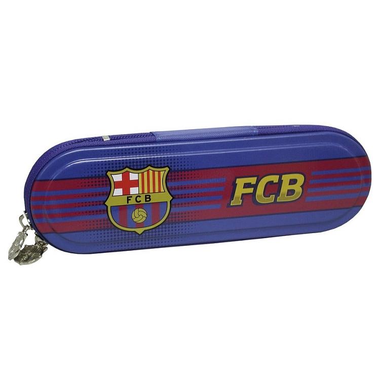 Metalowy piórnik na licencji FC Barcelona za 7.99zł @ Smyk