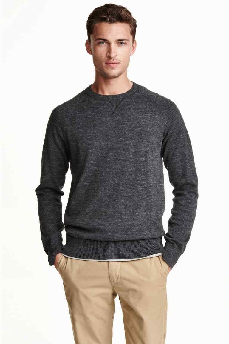 Cienki sweter męski @ H&M