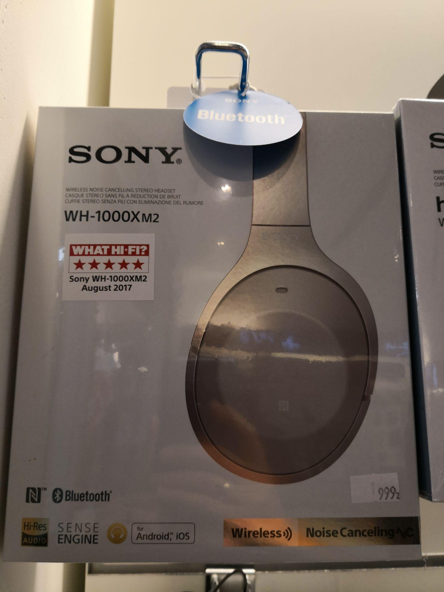 Słuchawki Sony WH1000XM2N