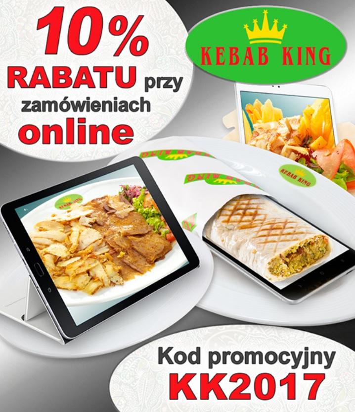 King Kebab -10% za zamówienia online