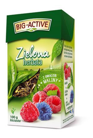 Zielone herbaty Big-Active po 2,99 zł przy zakupie 2 sztuk w Stokrotce