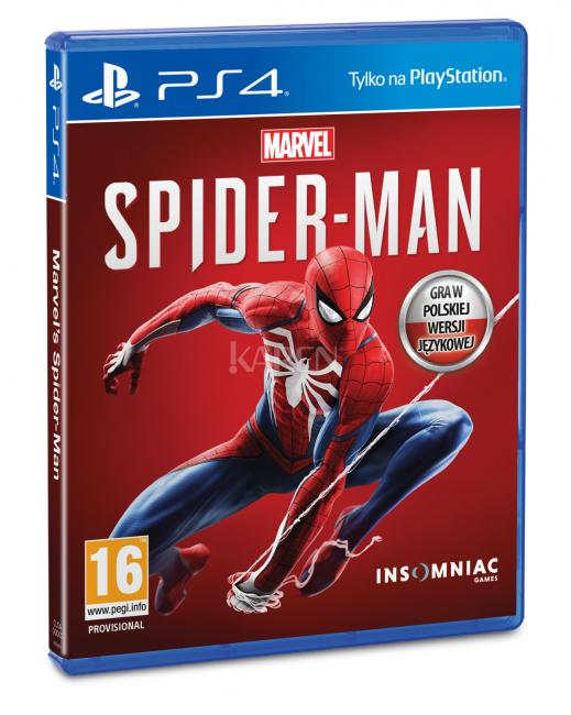 Spider-Man [Playstation 4] wersja pudełkowa @ Karen