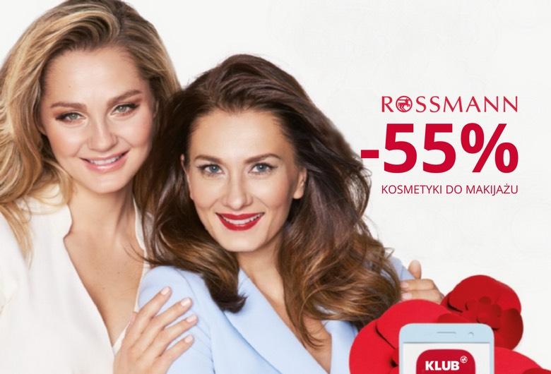 ROSSMANN -55% na PRODUKTY DO MAKIJAŻU